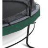 Batuut 'Elegant Premium' Ø427cm + ohutusvõrk Economy ja vedrukate, roheline