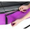 Batuut 'Elegant Premium' Ø427cm + ohutusvõrk Economy ja vedrukate, roosa