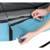 Batuut 'Elegant Premium' Ø427cm + ohutusvõrk Economy, vedrukate ja ankrud 4tk, sinine-4