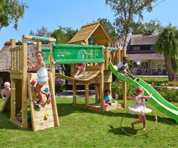 Laste mänguväljak Jungle Gym Cubby sillamoodul Bridge