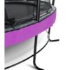 Batuut 'Elegant Premium' Ø366cm + ohutusvõrk Deluxe ja vedrukate, lilla