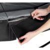 Batuut 'Elegant Premium' Ø366cm + ohutusvõrk Deluxe ja vedrukate, must