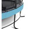 Batuut 'Elegant Premium' Ø366cm + ohutusvõrk Deluxe ja vedrukate, sinine
