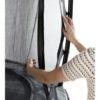 Batuut maapinnale 'Elegant Premium' Ø427cm + ohutusvõrk Deluxe + vedrukate, hall