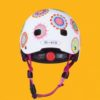 Laste kiiver 'Doodle Dot', LED tulega