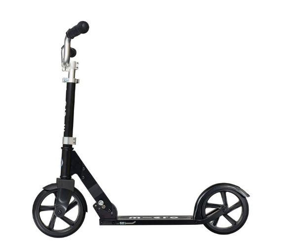 Laste tõukeratas Micro Cruiser (must), lastele 5-12 aastat