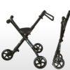 Laste jalutuskäru Micro Trike (must), lastele 18+ kuud