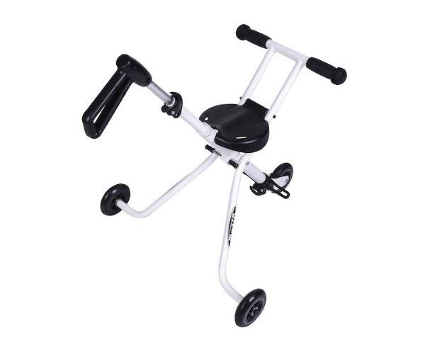 Laste jalutuskäru Micro Trike (valge), lastele 18+ kuud