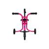 Laste jalutuskäru Micro Trike XL (roosa), lastele 18+ kuud