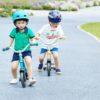 Laste jooksuratas Micro G-Bike Chopper Deluxe (kollane), lastele vanuses 2-5 eluaastat
