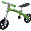 Laste jooksuratas Micro G-Bike (roheline), lastele vanuses 2-5 eluaastat