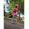 Laste tõukeratas Micro Sprite (roosa), lastele 5-12 aastat