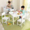 Laste laud ja toolid, 'Kidkraft' Farmhouse, valge