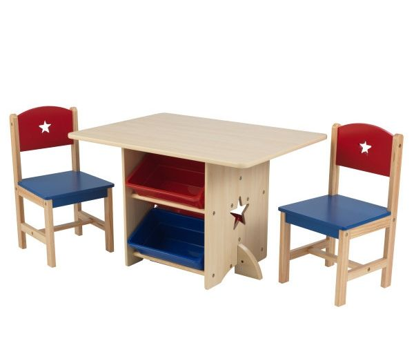 Laste laud ja toolid, 'Kidkraft' Star, naturaalne
