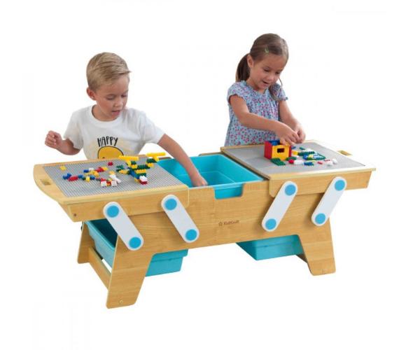 'KidKraft' legolaud Bricks Play N Store + 200 mänguklotsi