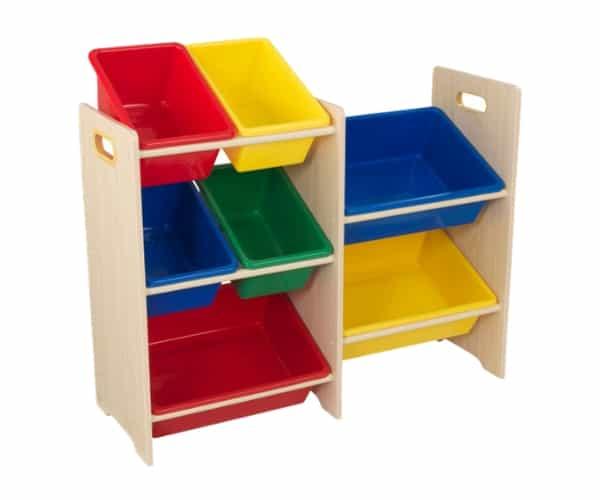 KidKraft mänguasjade riiul '7 Bin'