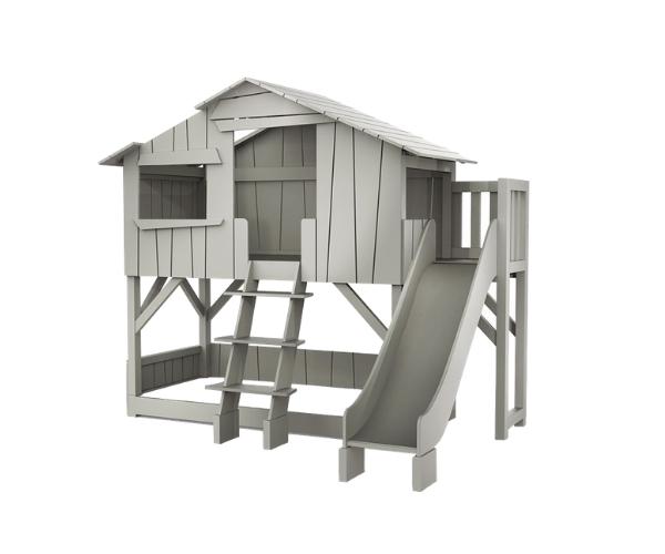 Laste onn-voodi Mathy by Bols 'Treehouse' 2-kohaline + liumägi