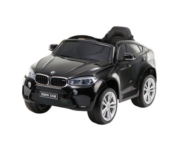 Lasteauto akuga 12V BMW X6 must