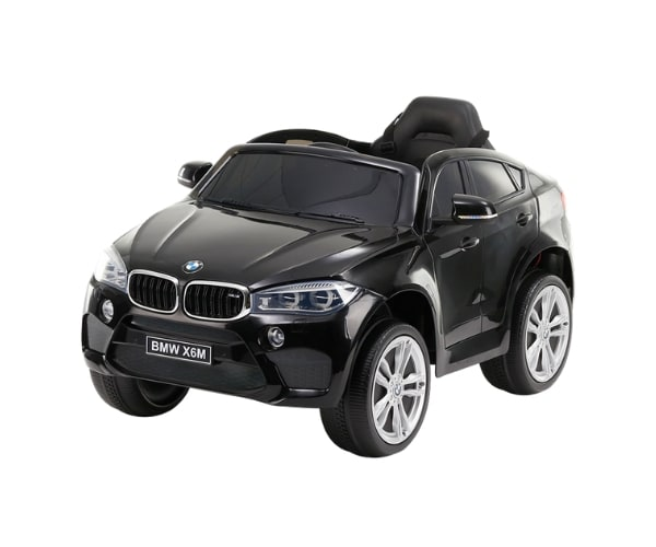 Lasteauto akuga 12V BMW X6 must