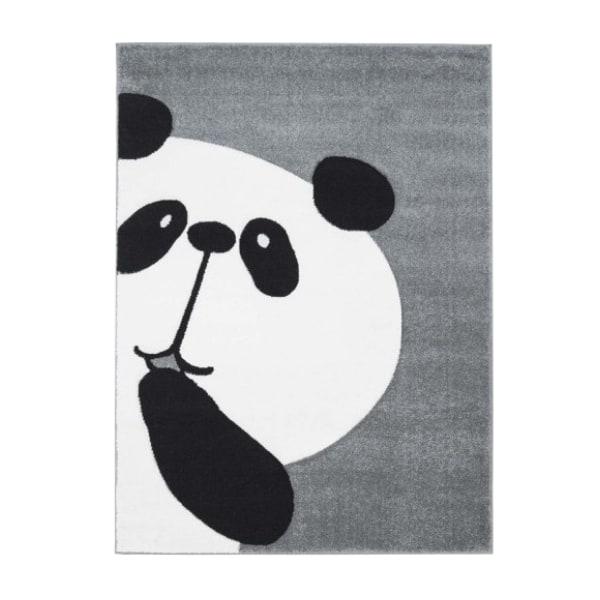 Pehme lastetoa vaip 'Piiluv panda' hall
