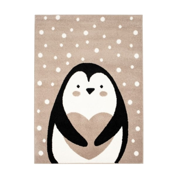 Pehme lastetoa vaip 'Pingviin' beež