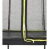 EXIT batuut 'Siluett' Ø427cm + ohutusvõrk ja vedrukate, must