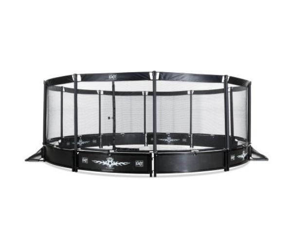 Teisaldatav jalgpalliväljak EXIT Panna ø488cm ümar + turvavõrk