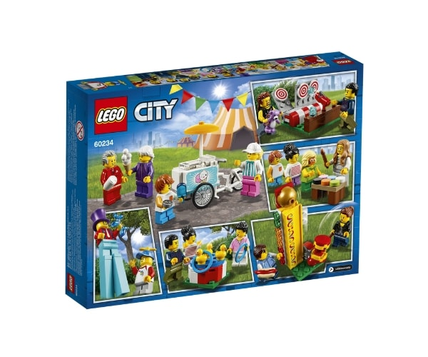 LEGO City Inimeste komplekt – lõbus laat