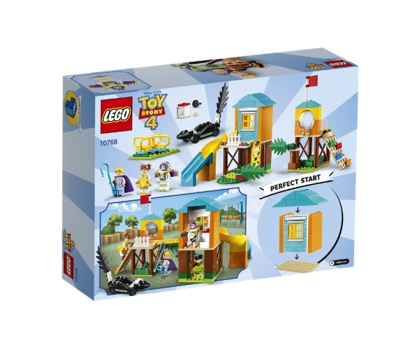 LEGO Juniors Buzz & Bo Peep´s mängumaa seiklused