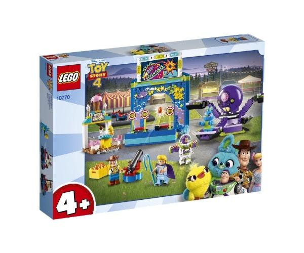 LEGO Juniors Buzzi ja Woody karnevalimöll