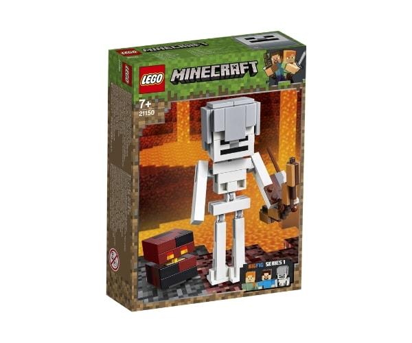 LEGO Minecraft BigFig Skeleton magmakuubikuga