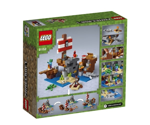LEGO Minecraft Piraadilaeva seiklus