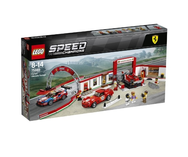 LEGO Speed Champions Ferrari garaaž