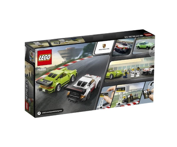 LEGO Speed Champions Porsche 911 RSR & 911 Turbo