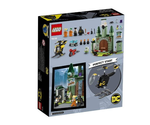 LEGO Super Heroes Batman™ ja Jokker™-i põgenemine