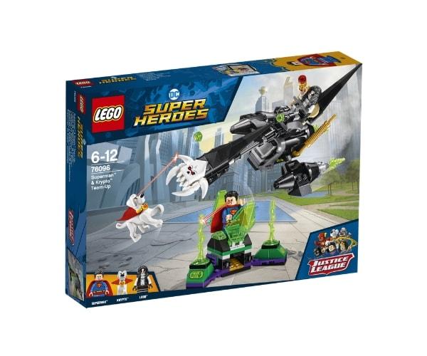 LEGO Super Heroes Superman™ & Krypto™ meeskondade ühinemine