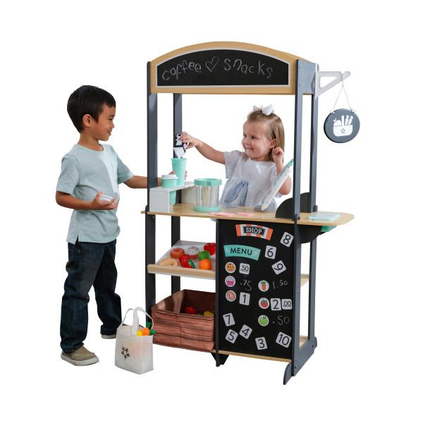 Laste mängupood 'KidKraft' Shopkeeper + 60 lisatarvikut