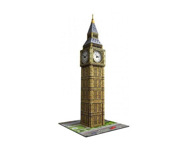 Pimedas helendav 3D pusle Big Ben