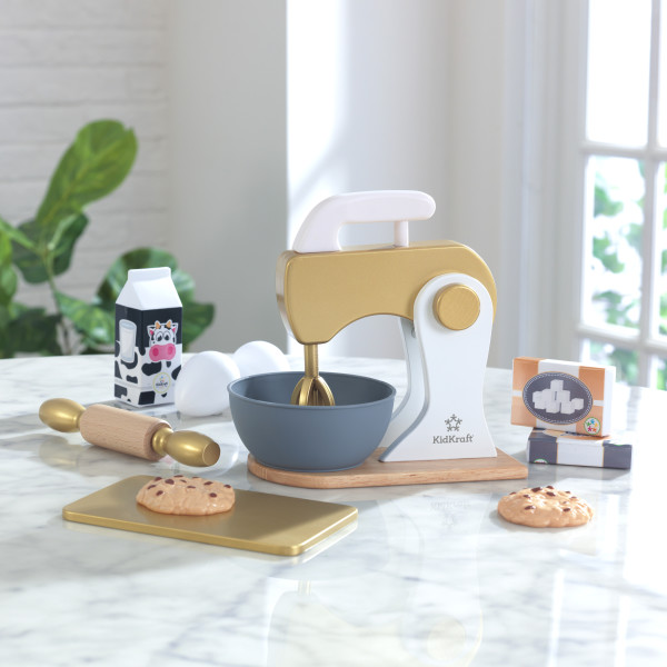 11-osaline küpsetuskomplekt 'KidKraft' Baking Modern Metallics™