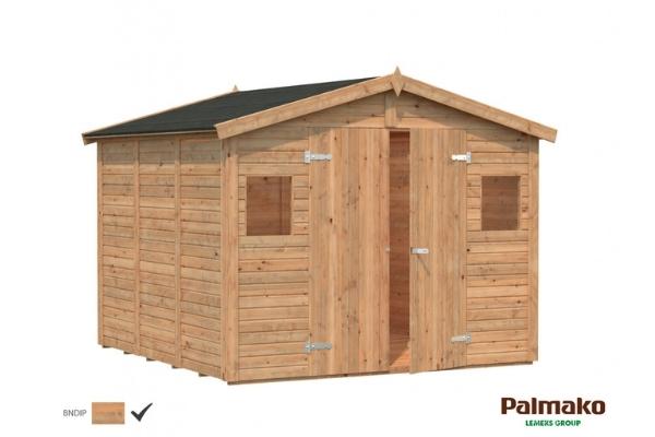 Aiakuur Dan 7,5 m² (pruun töötlus)