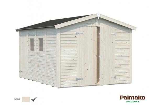 Aiakuur Dan 9,9 m² (valge töötlus)