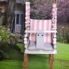 Beebikiik õue 3in1 (valge-roosa)