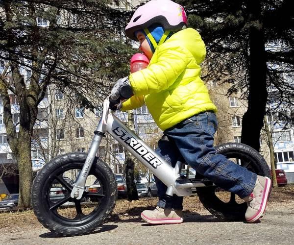 Laste jooksuratas Strider 12 PRO, vanuses 1,5-5 eluaastat