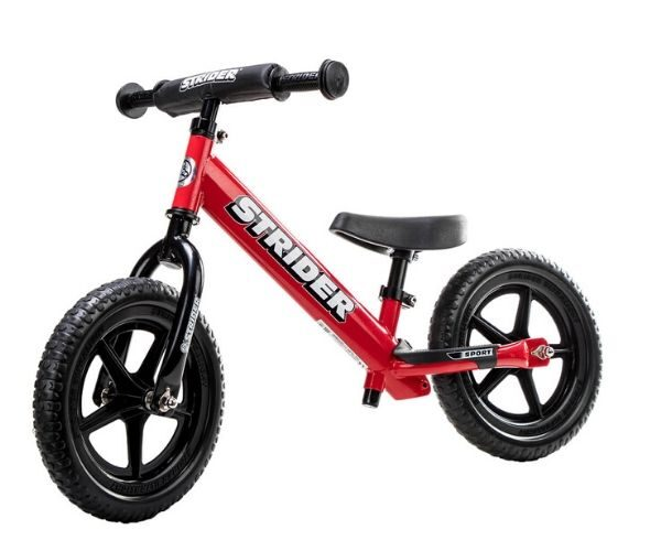 Laste jooksuratas Strider Sport 12 (punane)