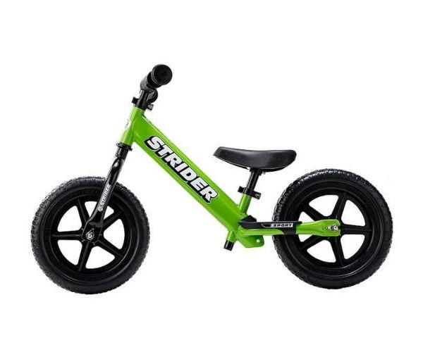 Laste jooksuratas Strider Sport 12 (roheline), vanuses 1,5-5 eluaastat