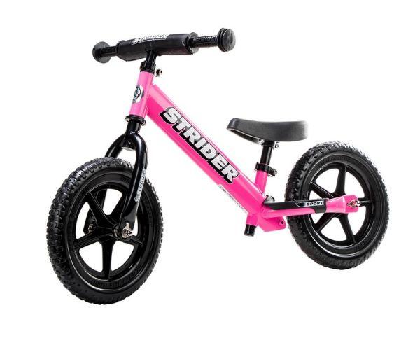 Laste jooksuratas Strider Sport 12 (roosa)