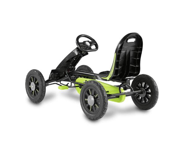 Pedaalidega kartauto EXIT Spider, roheline/must