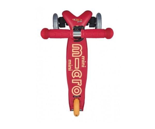 Laste tõukeratas Micro Mini Deluxe (rubiinpunane), lastele 2-5 aastat