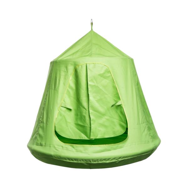 Telk-kiik õue Ø110cm (roheline)