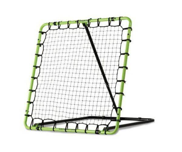 Treeningvärav EXIT Tempo Rebounder, 120x120cm, roheline/must